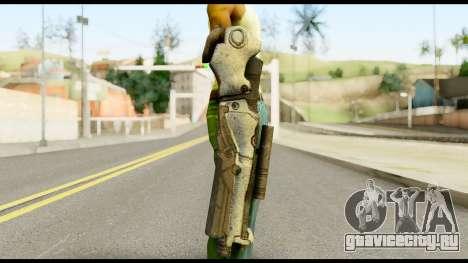 Plasmagun from Metal Gear Solid для GTA San Andreas третий скриншот