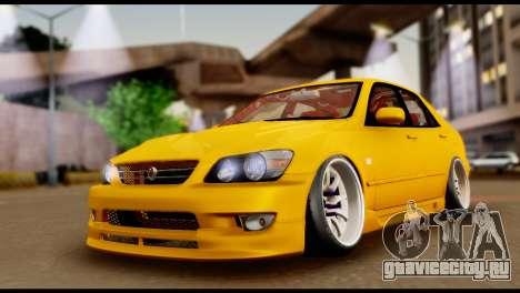 Toyota Altezza Street 2004 для GTA San Andreas