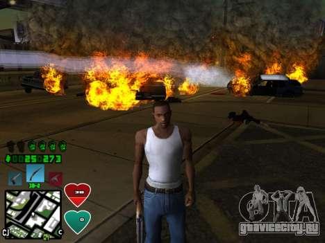 C-HUD Classic v4.1 для GTA San Andreas второй скриншот