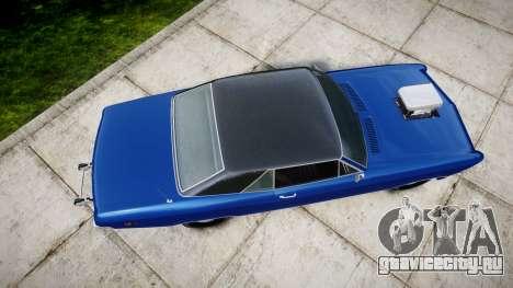 GTA V Albany Buccaneer Little Wheel для GTA 4 вид справа