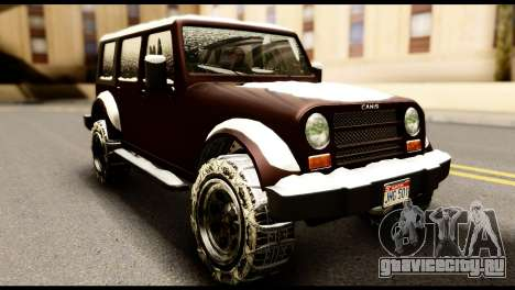 GTA 5 Mesa для GTA San Andreas