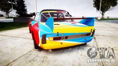 BMW 3.0 CSL Group4 1973 Art для GTA 4 вид сзади слева