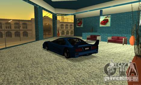 HD Turismo для GTA San Andreas вид сзади слева