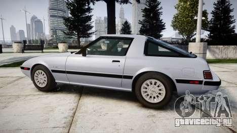 Mazda RX-7 1985 FB3s [EPM] для GTA 4 вид слева