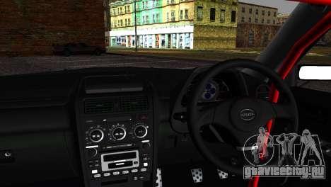Toyota Altezza DC Hunter для GTA San Andreas вид сзади слева
