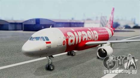 Air Asia Airbus A320 PK-AZF для GTA San Andreas