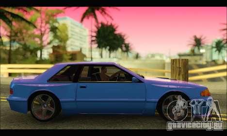 Bravura AWD Turbo для GTA San Andreas вид слева