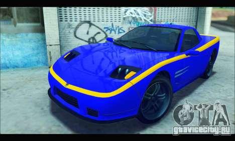 Coquette (GTA IV) для GTA San Andreas