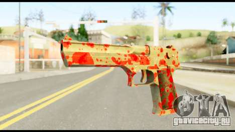 Desert Eagle with Blood для GTA San Andreas