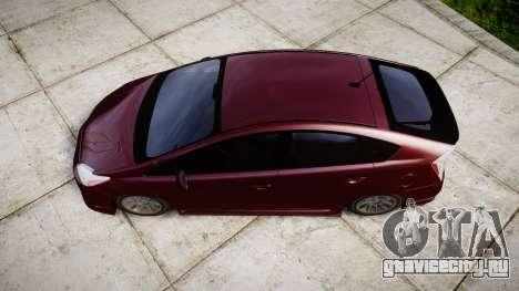 Toyota Prius для GTA 4 вид справа
