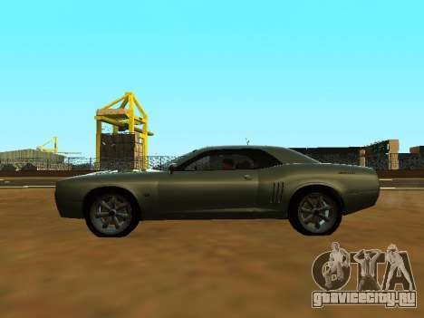 GTA 5 Bravado Gauntlet для GTA San Andreas вид изнутри