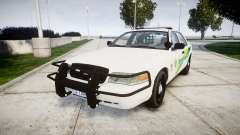 Ford Crown Victoria Martin County Sheriff [ELS] для GTA 4