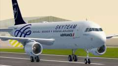 Airbus A320-200 Air France Skyteam Livery для GTA San Andreas