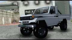 Toyota Land Cruiser Macho Pick-Up 2007 4.500 для GTA San Andreas