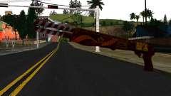Новогодний Боевой Дробовик для GTA San Andreas
