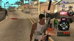 C-HUD Sweet для GTA San Andreas
