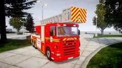 Scania R580 Marseille Fireladder [ELS]