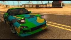 Mazda RX-7 Camo для GTA San Andreas