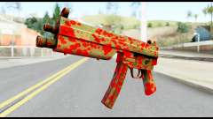 MP5 with Blood для GTA San Andreas