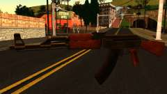 AK47 from GTA 4