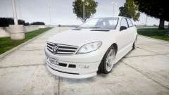 GTA V Benefactor Schafter body small rims