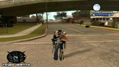 HUD Ghetto Tawer для GTA San Andreas