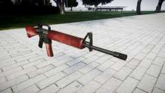 Винтовка M16A2 red