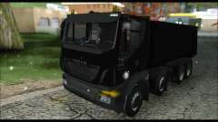 Iveco Trakker 2014 Tipper Snow (IVF & ADD) для GTA San Andreas