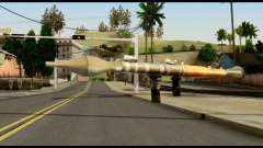 RPG7 from Metal Gear Solid для GTA San Andreas