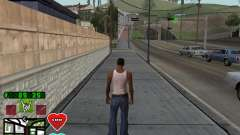C-HUD Classic v4.1 для GTA San Andreas