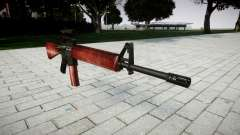 Винтовка M16A2 [optical] red для GTA 4