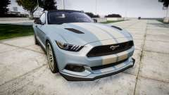 Ford Mustang GT 2015 Custom Kit gray stripes