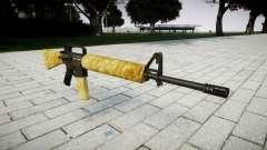 Винтовка M16A2 gold