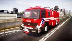 Mercedes-Benz Atego Indonesian Fire Truck [ELS] для GTA 4