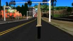 Knife from GTA 4 для GTA San Andreas