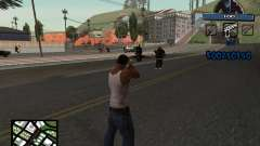 C-HUD Unique Ghetto для GTA San Andreas
