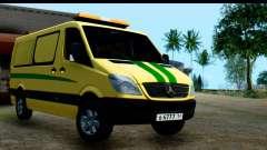 Mercedes-Benz Sprinter Инкассация России для GTA San Andreas