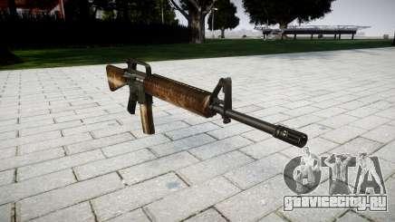 Винтовка M16A2 dusty для GTA 4
