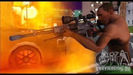 Raab KM50 Sniper Rifle From F.E.A.R. 2 для GTA San Andreas