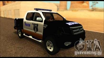 Ford Ranger P.B.A 2015 Text3 для GTA San Andreas