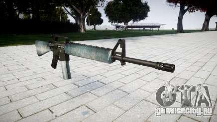 Винтовка M16A2 icy для GTA 4