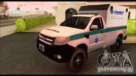 Ford Ranger 2013 Ambulancia Chubut для GTA San Andreas
