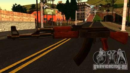 AK47 from GTA 4 для GTA San Andreas