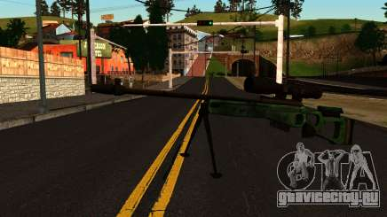 СВ-98 с Сошками и Прицелом для GTA San Andreas