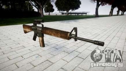 Винтовка M16A2 [optical] dusty для GTA 4