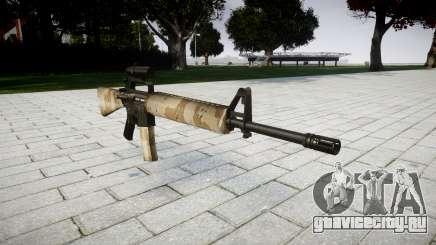 Винтовка M16A2 [optical] nevada для GTA 4