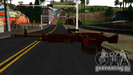 Новогодний Миниган для GTA San Andreas