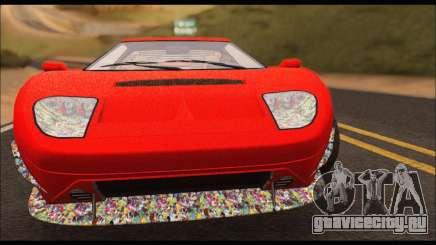Vapid Bullet Gt (GTA IV) (Stickers Edition) для GTA San Andreas