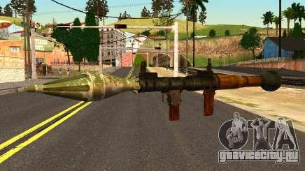 Rocket Launcher from GTA 4 для GTA San Andreas