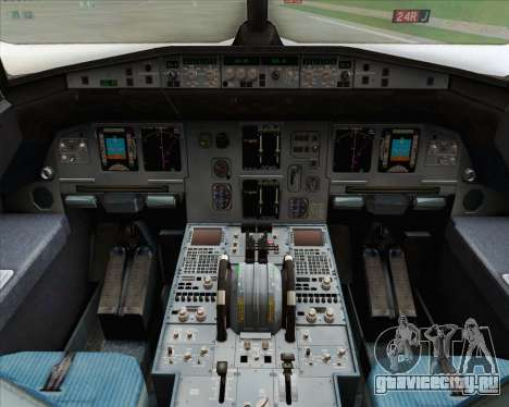 Airbus A320-200 Indonesia AirAsia для GTA San Andreas вид сбоку